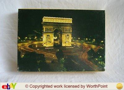 Vintage-1972-Springbok-World-of-Wonder-Series-Puzzle-Larc-De-Triomphe-Paris