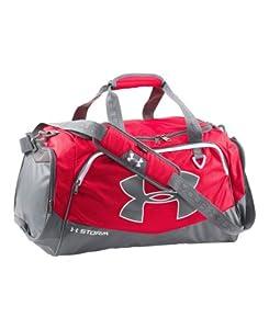 Under Armour Undeniable Duffel Bag, Red, Medium