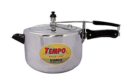 Tempo-TP0210-Sumo-Aluminium-8-L-Pressure-Cooker-(Inner-Lid)