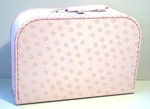 Suitcase rose, flowers, big, strong cardboard 530119