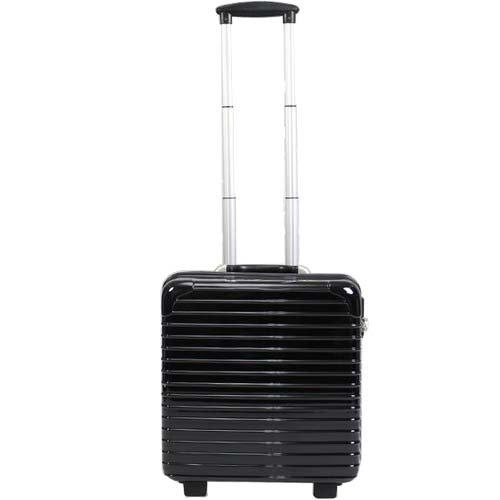 TSAロック搭載 スーツケース DC-8007 黒 /36L/ 美しい 丈夫 軽い /DC-8007-BK/###ケースDC-8007黒###
