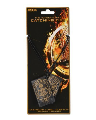 NECA The Hunger Games Catching Fire Friendship District 4 & 12 Seals Necklace by NECA