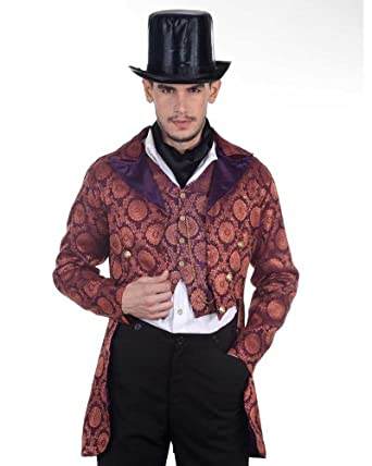 Steampunk Men's Coats Steampunk Victorian Gentleman Opera Coat Costume $79.00 AT vintagedancer.com