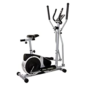 Buy Body Champ BRM2780 Magnetic Elliptical Dual Trainer with Seat by Body Champ
