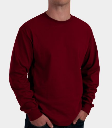 Fruit of the Loom Men's Long Sleeve Tee