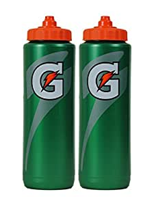 Gatorade Squeeze Water Sports Bottle 32oz Pack of 2