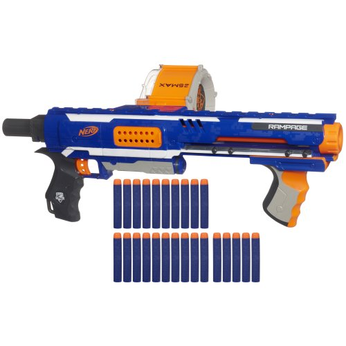 Nerf N-Strike Elite Rampage Blaster (Hail Fire Nerf Gun compare prices)