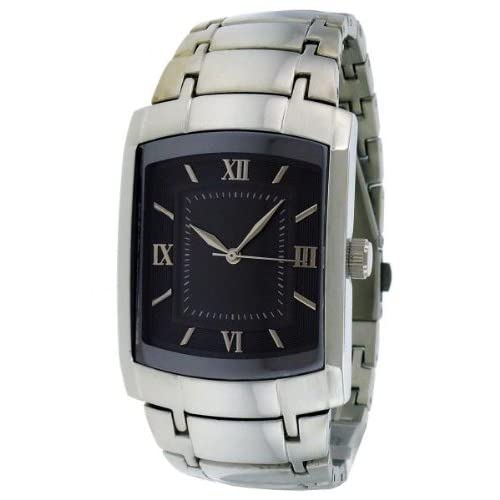 Amazon.com: FMD by Fossil Merona Square Stainless Steel Mens Watch