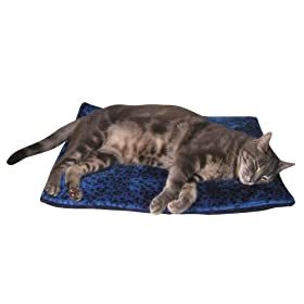 Pet Thermal Cat Mat - Blue Color