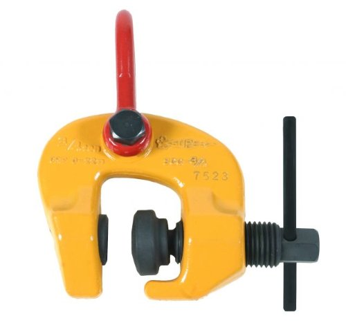 Terrier 1-1/2 Ton Lifting Screw Clamp (TSCC) WLL-3,300 lbs. Jaw-Opening 0-1.57