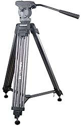 PowerPak VideoPro- 25 Professional Aluminium Tripod For Digital & DSLR Cameras
