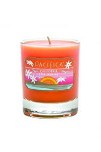 Pacifica California Star Jasmine 3 oz Soy Candle Glass