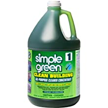 Simple Green 11001 Clean Building All-Purpose Concentrate Cleaner, 1 Gallon Bottle