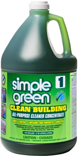 Simple Green 11001CT Clean Building All-Purpose Cleaner Concentrate, 1gal Bottle