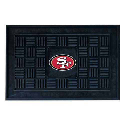 FANMATS NFL San Francisco 49ers Vinyl Door Mat at Amazon.com