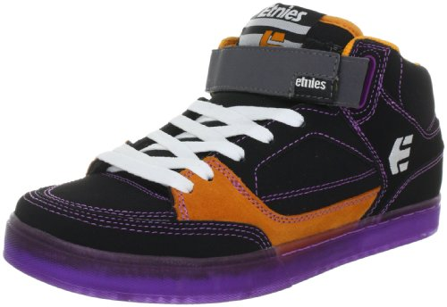 Etnies Men's NUMBER MID Trainers - Skateboarding 4102000066 Black/Purple 550 10.5 UK