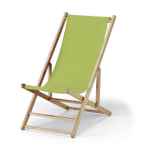 Telescope Casual Cabana Beach Folding Chair, Lime