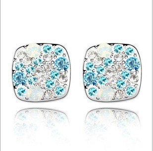 Rolicia Austrian Crystal Made with Swarovski Elements Colorful Stars Earrings For Women