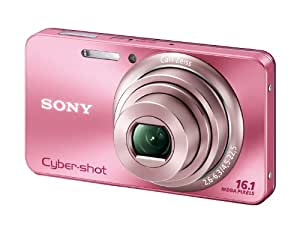 SONY Digital Camera Cybershot W570 16.10MPS CCD x5 Optical zoom Pink DSC-W570/P