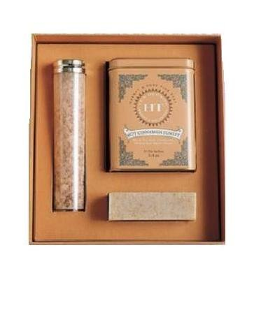 Harney & Sons Energizing Spa Gift - Tea, Bath Salts and Scented Soap