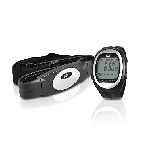Pyle Uhr Pulsuhr für Jogging und Cardio, PHRM56
