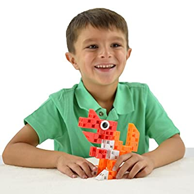 Click-A-Brick Dino Pals 30pc Educational Toys Building Block Set - Best Gift for Boys and Girls by Click-A-Brick