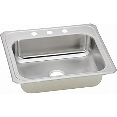 Elkay CR31223 Gourmet Celebrity Sink, Stainless Steel