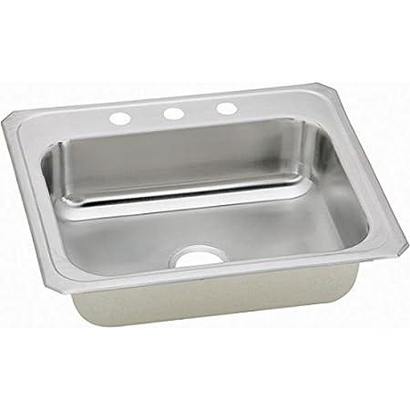 Elkay CR31223 Gourmet Celebrity Sink, Stainless Steel