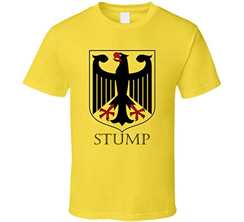 Avatshirt Stump German Last Name Custom Surname Germany Coat of Arms T Shirt 2XL Daisy (Arm Stump)