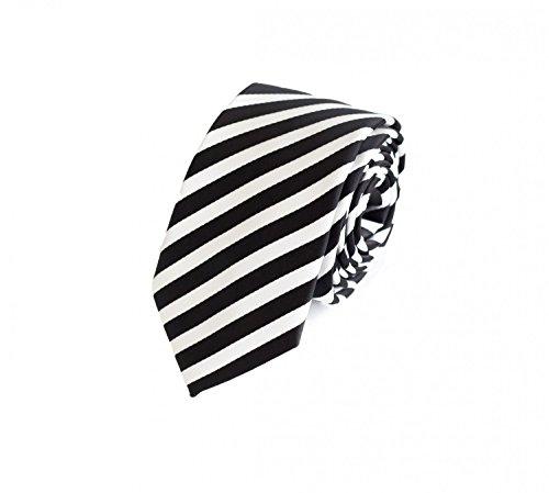 schmale-krawatte-von-fabio-farini-gestreift-in-schwarz-weiss