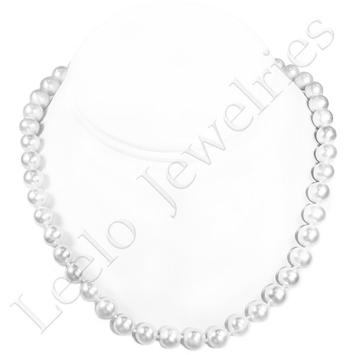 Fresh Water Pearl Necklace - approx. 18 inches (White)