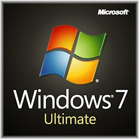 Windows 7 Ultimate SP1 64bit (Full) System Builder OEM DVD 1 Pack