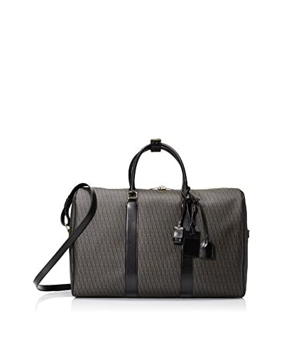 Saint-Laurent Toile Monogram 48H Duffle, Black