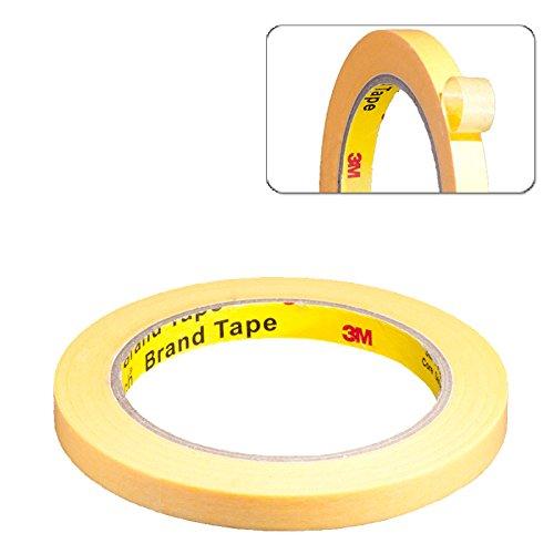 014m-3M-Scotch-244-Gold-Maler-Krepp-Abdeckband-Klebeband-Abklebeband-10-mm-x-50-Meter