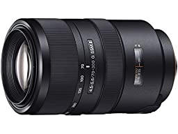Sony SAL70300G2 Camera lens 70-300mm F4.5-5.6 G SSM II A mount - International Version (No Warranty)