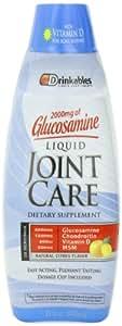 Drinkables  Liquid Joint Care, Citrus, 33-Ounce Plastic Bottle
