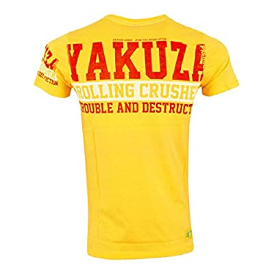 Yakuza Premium T-Shirt Herren Join The Revolution YPS 1813 gelb - fällt 1 Nr. kleiner aus + figurbetont