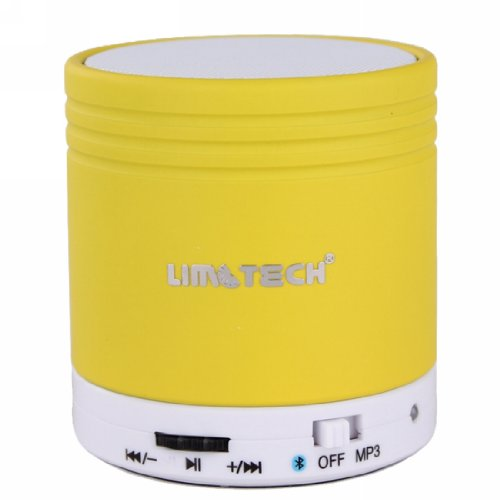 Limtech® Bluetooth Music Receiver S10 Wireless Mini Bluetooth Speaker With Usb For Smartphone Support Answer Calling And Tf Card (Yellow))