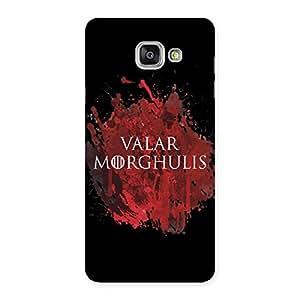 Valrmorghu Multicolor Back Case Cover for Galaxy A7 2016