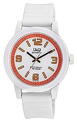 Q&Q Analog White Dial Mens Watch - VR10J009Y