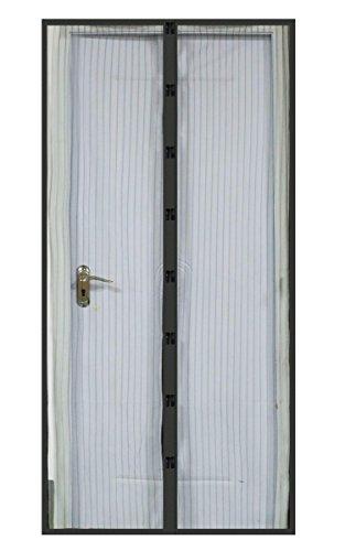 Arshiner Home Curtain Door Mesh Hands-Free Screen Net Magnetic Screen Door