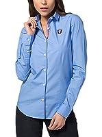 Jimmy Sanders Camisa Mujer (Azul)