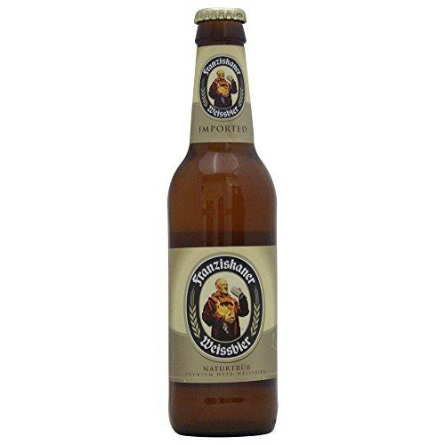 【 セット 販売 】 Franziskaner ( フランツィスカーナー ) へーフェ ヴァイス ビール 瓶 355ml × 6本