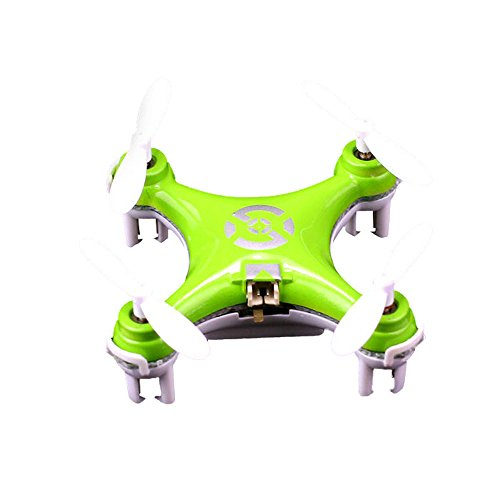 Niceroker Baby Will Fly Green Cheerson Cx-10 Mini Rc Quadcopter