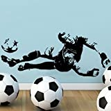 GOMO Wall stickers GOAL KEEPER FOOTBALL WALL ART ST