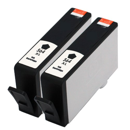 E-Z Ink Remanufactured Ink Cartridge Replacement For New Generation Hp 564Xl Cn684Wn (2 Black)