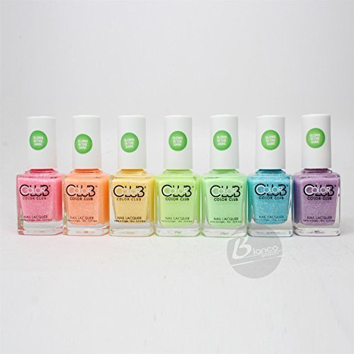 Color-Club-glow-in-the-dark-Nail-Polish-2015-Neon-Set-of-7-colors