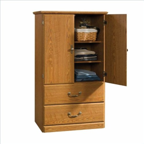 Sauder Orchard Hills Carolina Oak Armoire