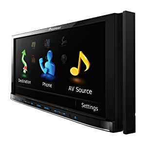 """Pioneer AVIC-Z120BT 7"""" In-Dash Double-Din Navigation CD/DVD/MP3 with Pandora iPhone streaming"""