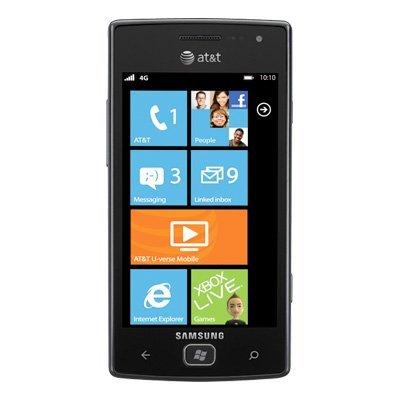 Samsung Focus Flash I677 8GB Unlocked GSM Phone with Windows 7.5 OS, 5MP Camera, GPS, Wi-Fi, Bluetooth and FM Radio  – Black image